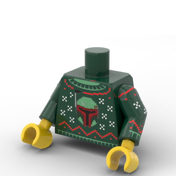 Christmas Sweater - Bounty Hunter