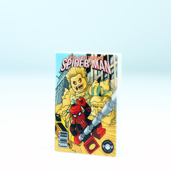 2x3 Comic - Spiderman - Sandman