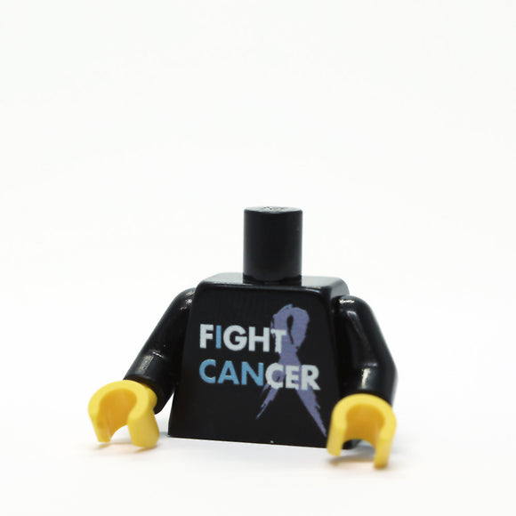 Fight Cancer - Black Torso