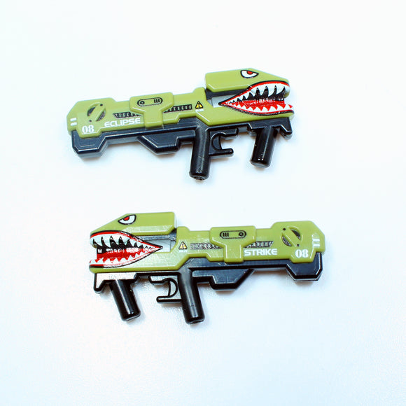 BrickArms® Splaser - Eclipse Strike™ Spitfire - Olive