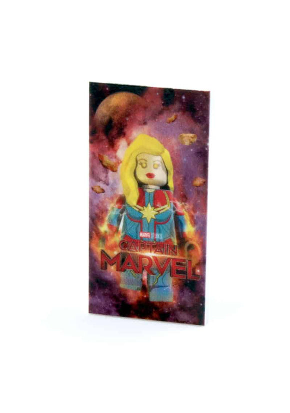 2x4 Captain Marvel