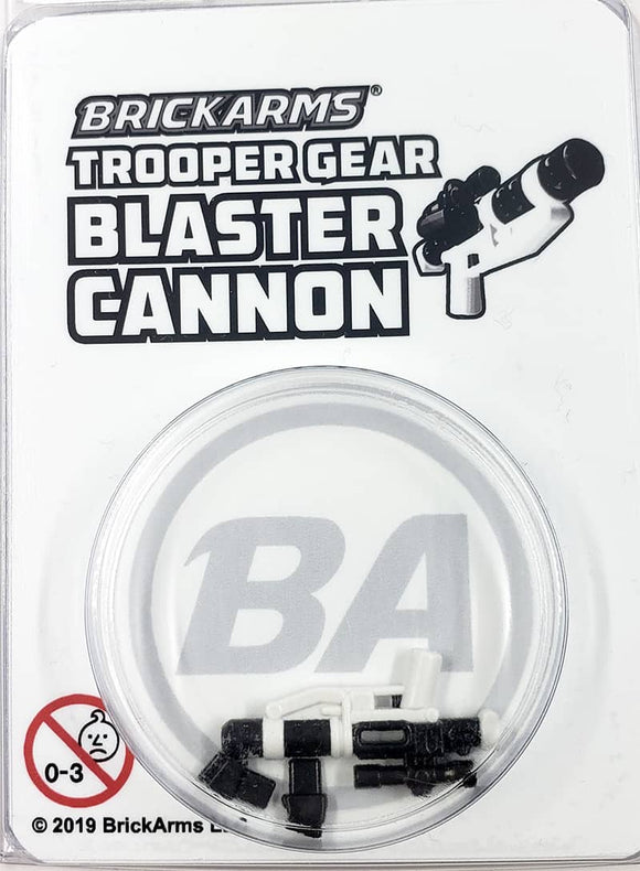 Trooper Gear - Blaster Cannon - white- Reloaded