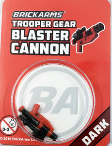 Trooper Gear - Blaster Cannon - Dark