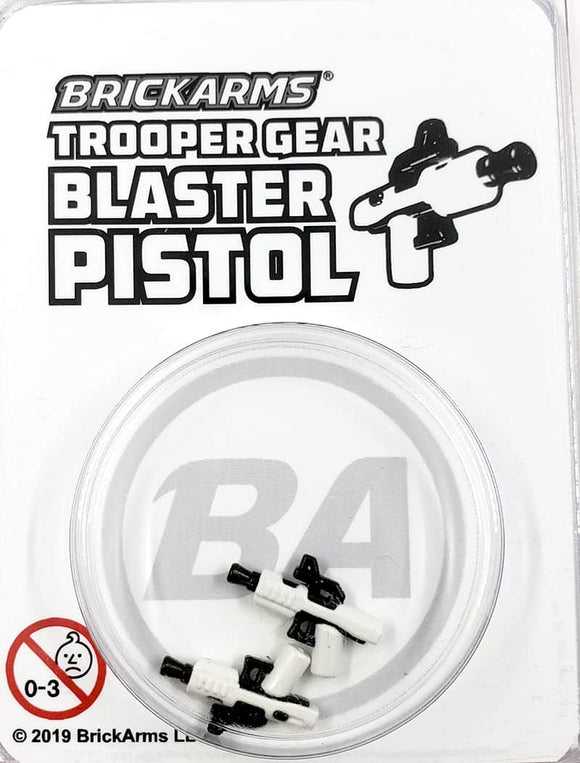 Trooper Gear - Blaster Pistol - white