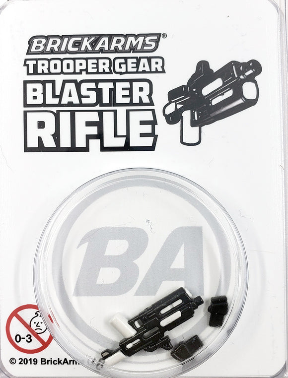 Trooper Gear - Blaster Rifle - White