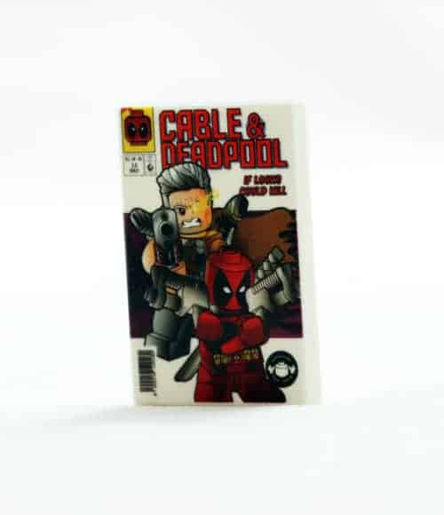 2x3 Comic - Cable and Deadpool