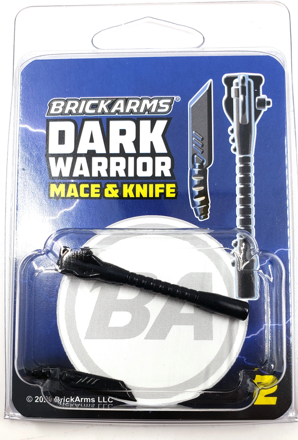 Dark Warrior Pack 2 - Mace and Knife