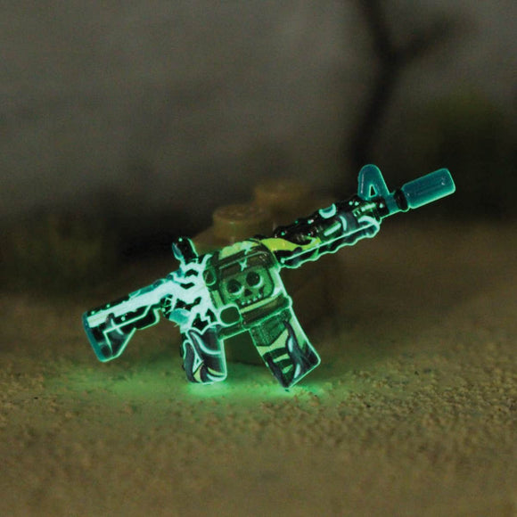 BrickArms® M4A4 - Eclipse Strike™ Desolate Space - GITD