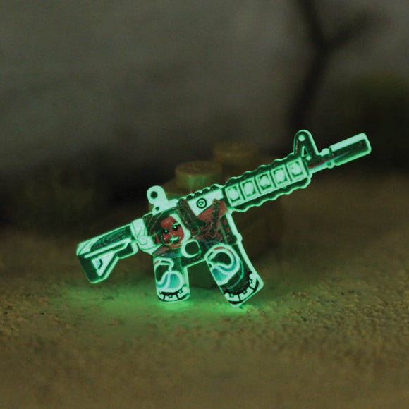 BrickArms® M4A4 - Eclipse Strike™ Neo Noir - GITD