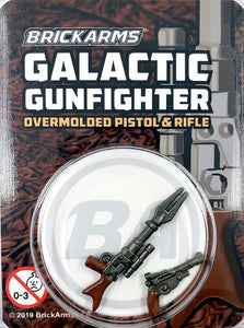 Galactic Gunfighter - Overmolded Pistol and Rifle