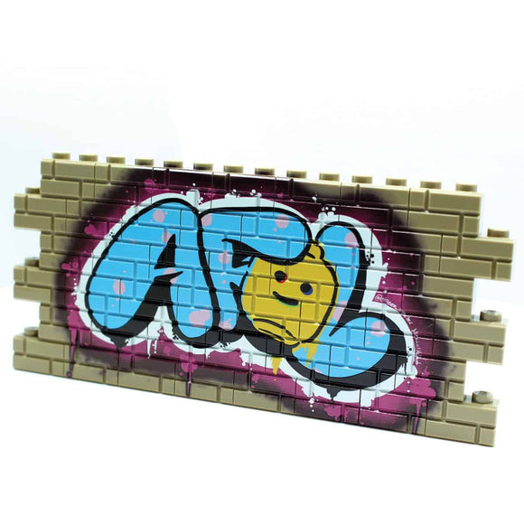 Graffiti - AFOL - Dark Tan