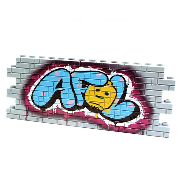 Graffiti - AFOL - Light Gray