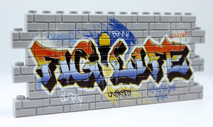 Graffiti - Fig Life - Light Gray