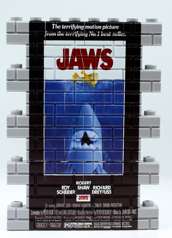 Wall Mural - Jaws - Lt Bley