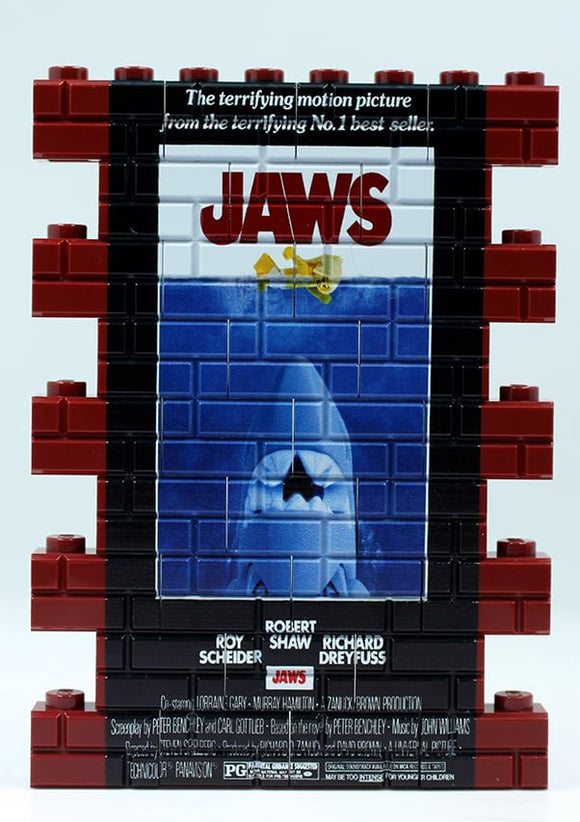 Wall Mural - Jaws Dk Red