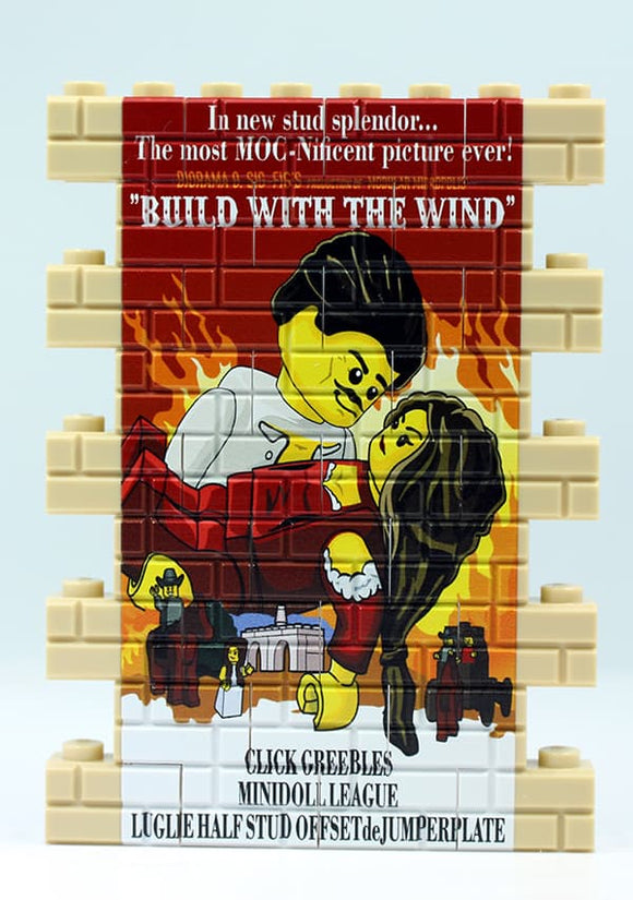 Wall Mural - Build With the Wind - tan