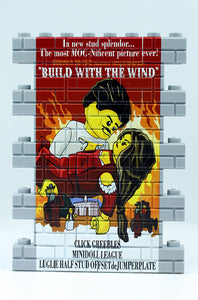 Wall Mural - Build With the Wind - lt bley