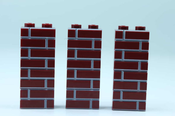 Masonry Bricks - Dark red