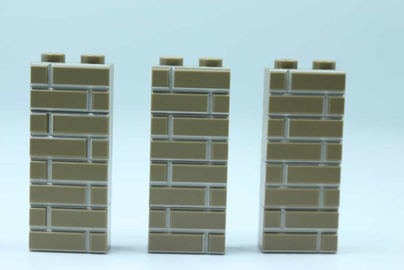 Masonry Bricks - Dark Tan
