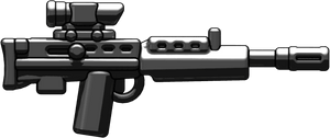 L85A1 Rifle: Black