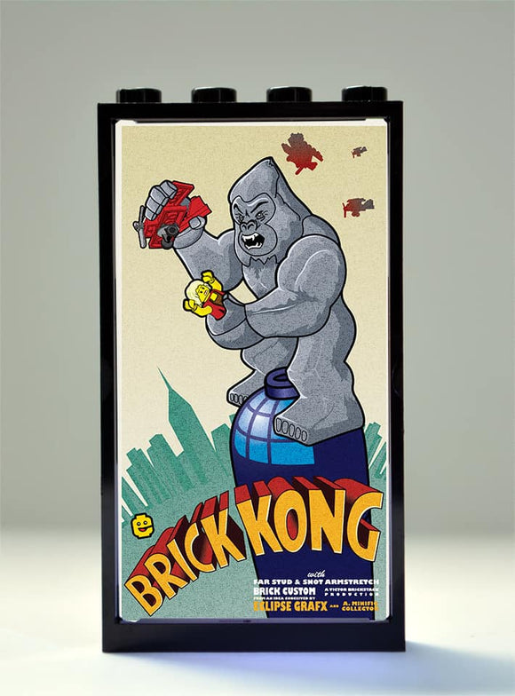 Movie Posters - Brick Kong