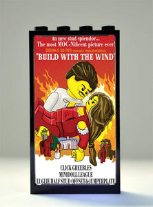 Movie Posters - Build with the wind
