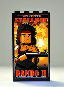 Movie Poster Series - Rambo II