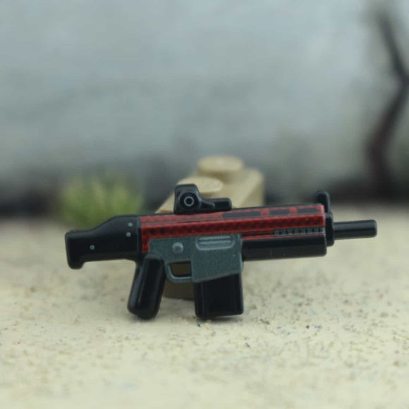 BrickArms® Hac - Eclipse Strike™ Scar - Red Carbon Fiber