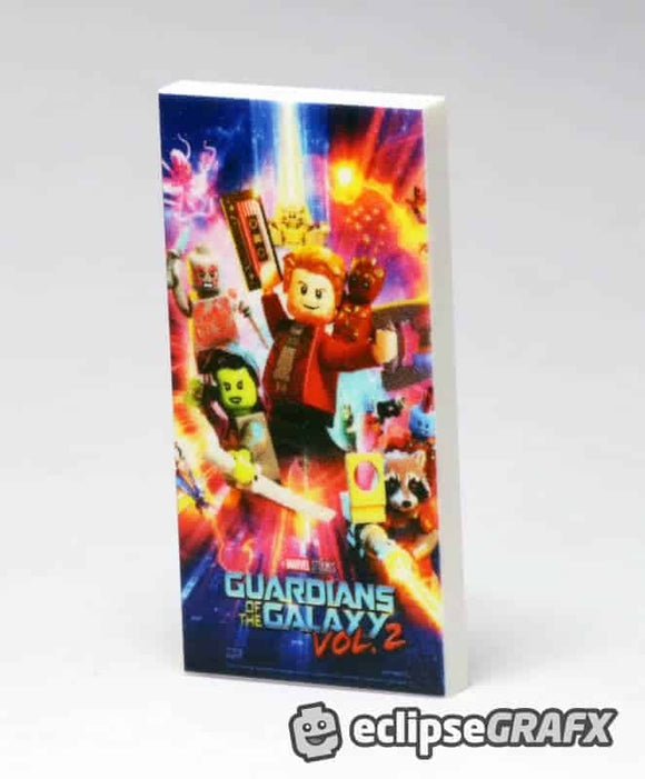 2x4 Guardians of the Galaxy Poster