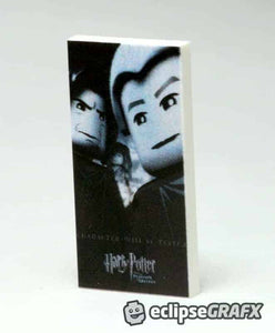 2x4 Harry Potter 3 Poster