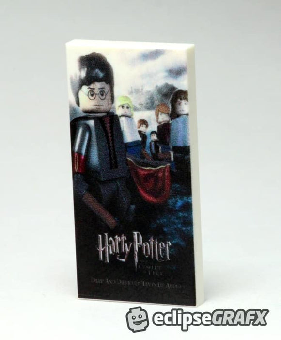 2x4 Harry Potter 4 Poster