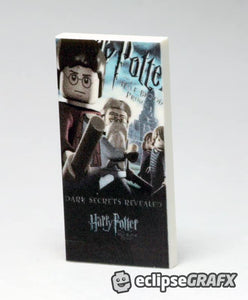 2x4 Harry Potter 6 Poster