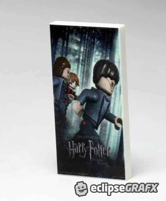 2x4 Harry Potter 7 Poster