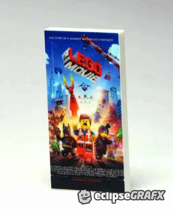 2x4 The Lego Movie  Poster