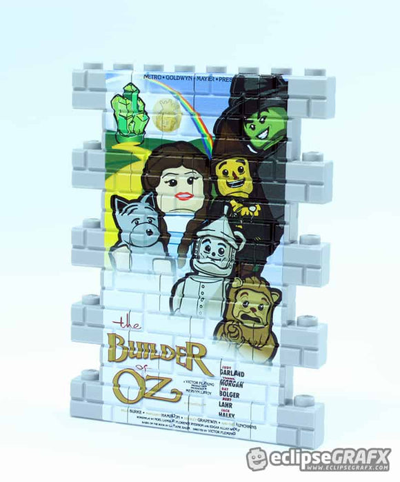 Wall Mural - Movie Poster - Builder Of Oz