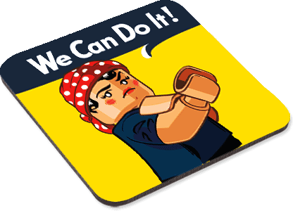 We Can Do It - Coaster