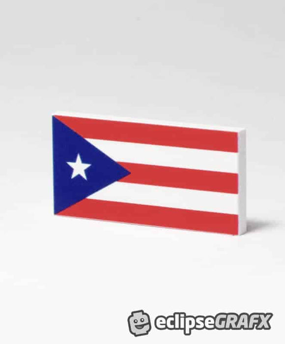 Flag of Puerto Rico