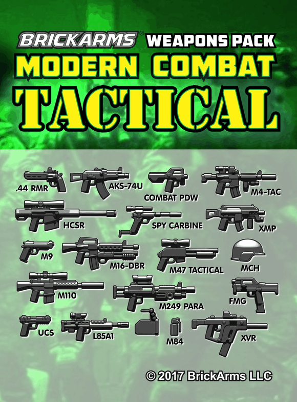 Modern Combat Weapons Pack - Tactical Pack