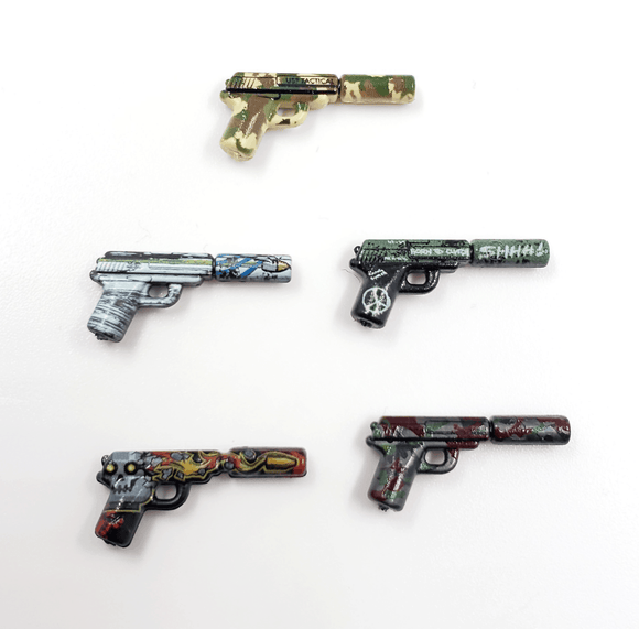 Eclipse Strike™ BrickArms® Spy Pistol - Wave 1 Collection