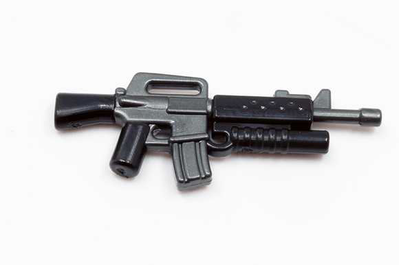 BrickArms Reloaded: M16A2-GL - Gunmetal/Black