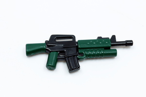BrickArms Reloaded: M16A2-GL - Black/Dark Green