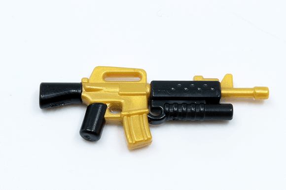 BrickArms Reloaded: M16A2-GL - Gold/Black
