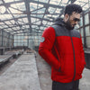 Red Black Puffer Jacket