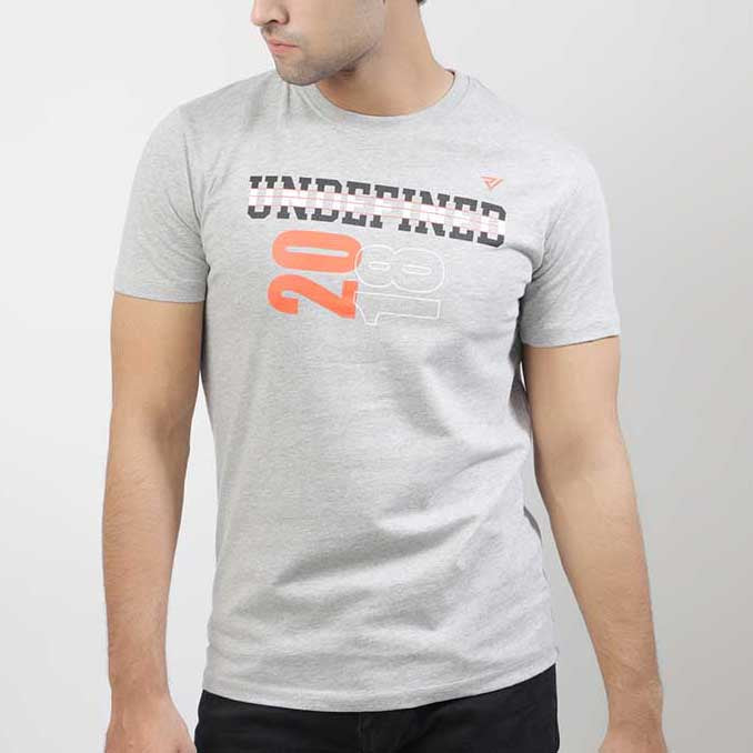Grey Graphic Tee