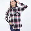 PINK CHECK FASHION TOP