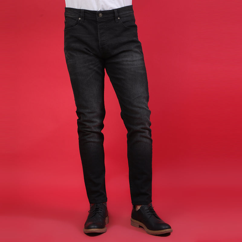 MID BLACK BASIC DENIM