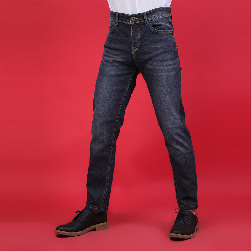 MID BLUE BASIC DENIM 4