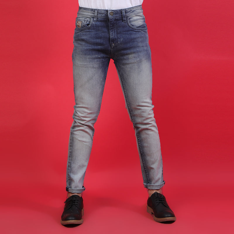MID BLUE BASIC DENIM