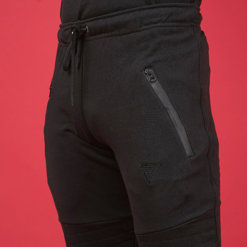 Black Trouser with Knee Patch