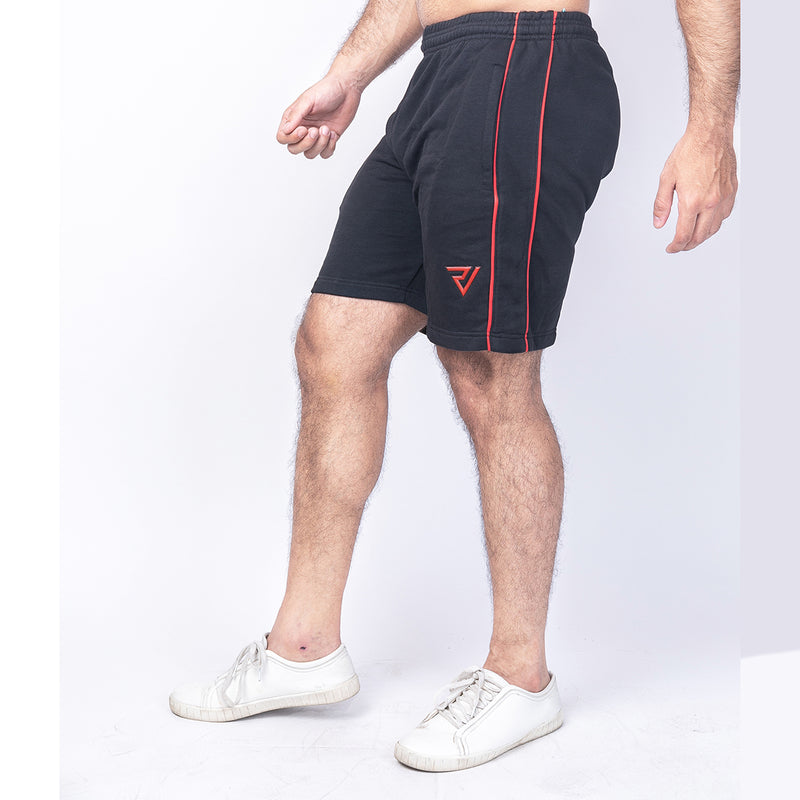 Red Lining French Terry Cotton Shorts